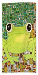 Tree Frog Hand Towel