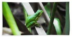 Tree Frog Hand Towel