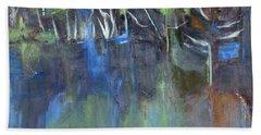 Tree Imagery Hand Towel