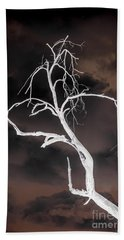 Tree Negative Bath Towel