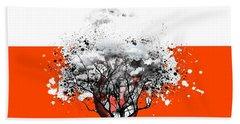 Tree Of Feelings Bath Towel by Paulo Zerbato