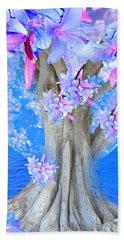 Tree Of Hope Bath Towel by Saundra Myles