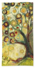 Tree Of Life In Autumn Bath Towel