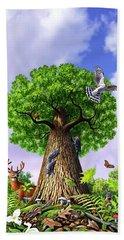 Tree Of Life Hand Towel