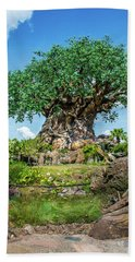 Tree Of Life Bath Towel by Pamela Williams