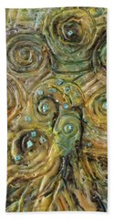 Tree Of Swirls Bath Towel