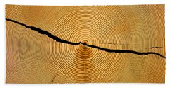 Tree Rings Bath Towel