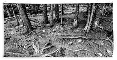 Tree Roots Bear Lake,co Bath Towel