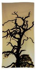 Tree Silhouette Hand Towel