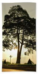 Trees On The Park Bath Towel