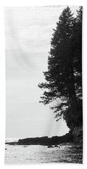 Trees Over The Ocean Hand Towel