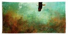 Treetop Eagle Flight Bath Towel