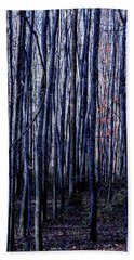 Treez Blue Hand Towel