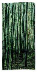 Treez Green Hand Towel