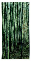 Treez Green Bath Towel