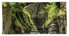 Treman State Park Bridge Hand Towel