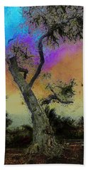 Hand Towel featuring the photograph Trembling Tree by Lori Seaman