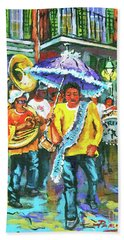 Treme Brass Band Hand Towel