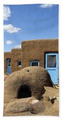 Tres Casitas Taos Pueblo Hand Towel