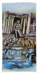 Trevi Fountain, Rome Bath Towel
