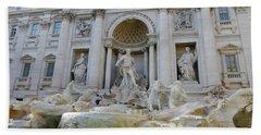 Trevi Fountain Rome Hand Towel