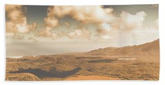Trial Harbour Landscape Panorama Hand Towel