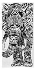 Tribal Elephant Hand Towel