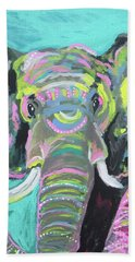 Tribal Elephant Bath Towel