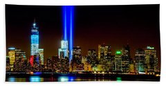 Tribute In Light From Bayonne Hand Towel