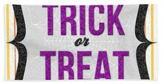 Trick Or Treat- Art By Linda Woods Hand Towel