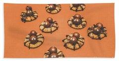 Trick Or Treat Halloween Spider Biscuits Bath Towel