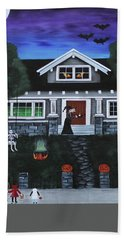 Trick-or-treat Hand Towel
