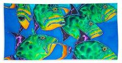 Queen Triggerfish Hand Towel