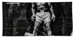 Trinity Boxing Gym Ali Vs Liston  Hand Towel