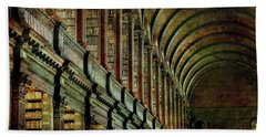 Trinity College Library Bath Towel