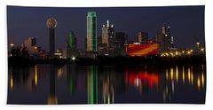 Trinity River Dallas Hand Towel