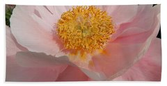 Triple Layer Pink Poppy Hand Towel
