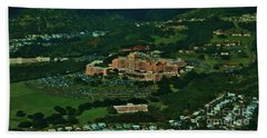 Tripler Army Medical Center Honolulu Hand Towel by Craig Wood