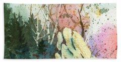 Triptych Panel 1 Bath Towel