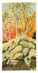 Triptych Panel 2 Hand Towel