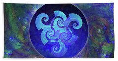Triskelion Bath Towel