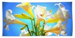 Triumphant  Easter Lilies Hand Towel