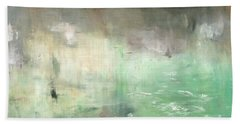 Bath Towel featuring the painting Tropic Waters by Michal Mitak Mahgerefteh