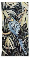 Tropical Adventure Bath Towel by Martha Ayotte