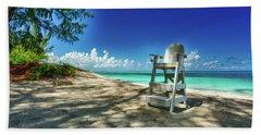 Tropical Beach Chair Hand Towel