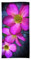 Tropical Bliss Hand Towel by Karen Wiles
