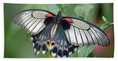 Tropical Butterfly Bath Towel
