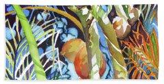 Tropical Design 2 Bath Towel by Rae Andrews