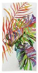 Tropical Fernery 2 Bath Towel by Rae Andrews