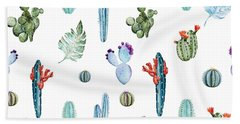 Cactus Hand Towels